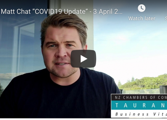 "Matt Chat ""COVID19 Update"""