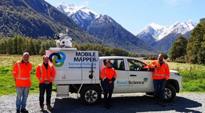 Road Science's Mobile Data Capture Unit and the Mobile Mapper vehicle