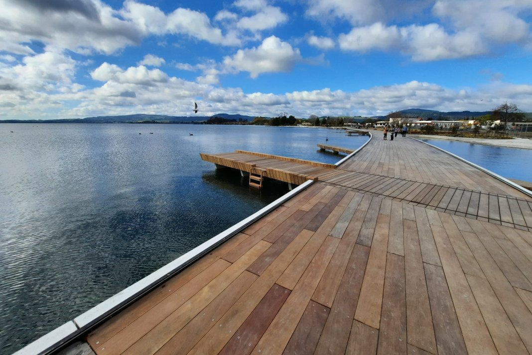 Rotorua lakefront redevelopment