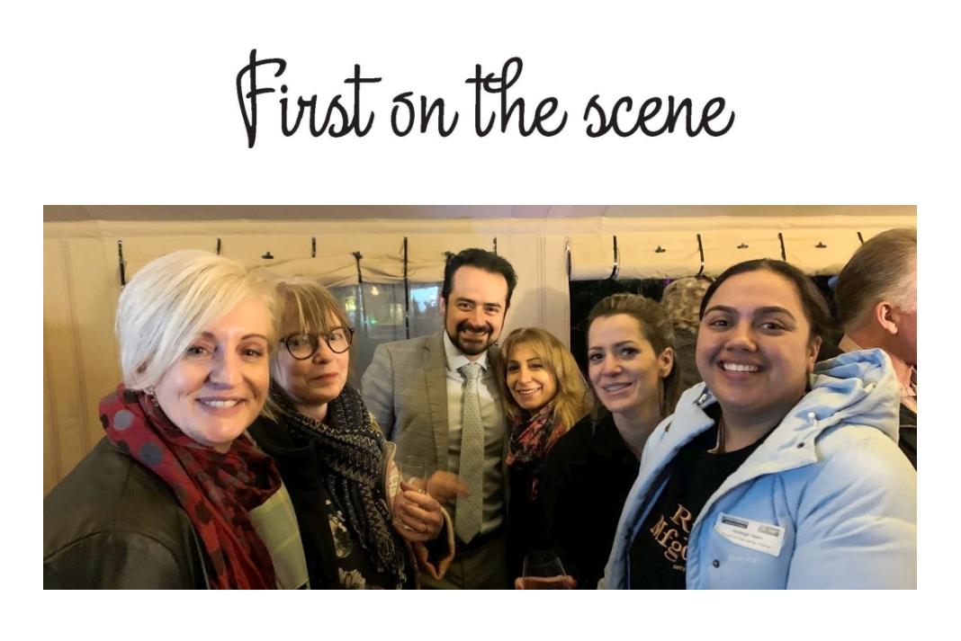 At the event 1 Annie Canning (Canning Life Coaching); Deb Rowles (Level 13); Israel Suarez Guido (Pullman Rotorua); Shaz Safarzadegan (Dancing Scissors); Miriam Hewson (Futureproof Concepts); Ashleigh Nairn (BurgerFuel, Fairy Springs)