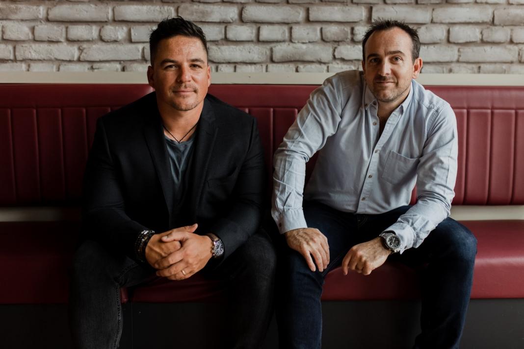 LawVu founders Tim Boyne and Sam Kidd