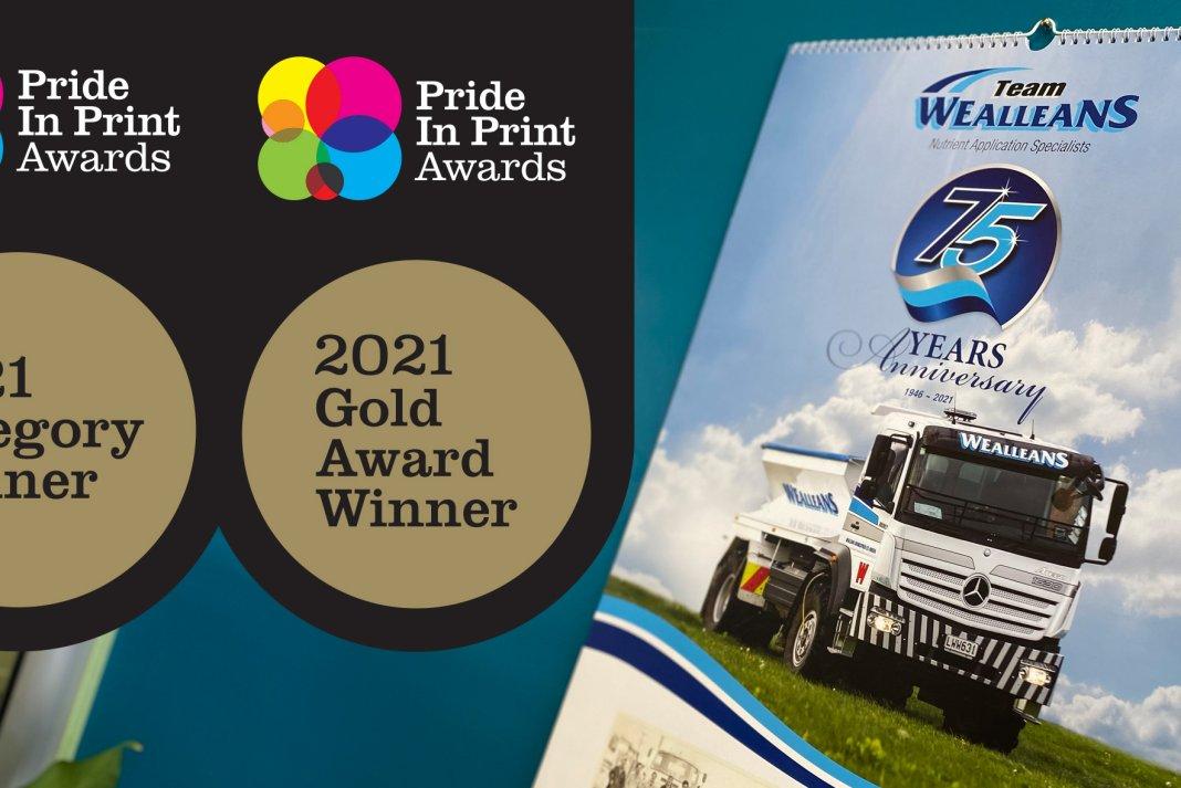 Copy of winning entry Wealleans 2021 Calendar